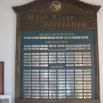 Wood River Centennial Foundation Plaque